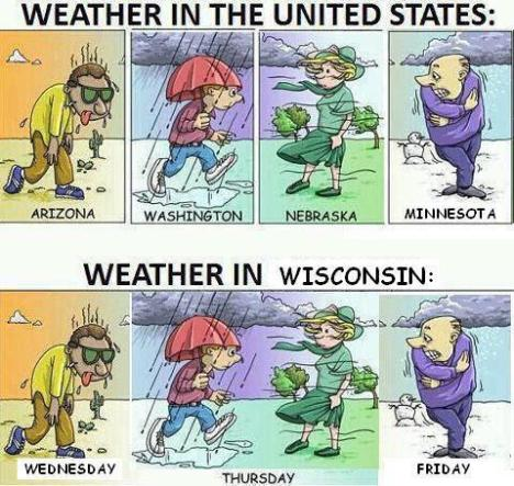 weather in wi