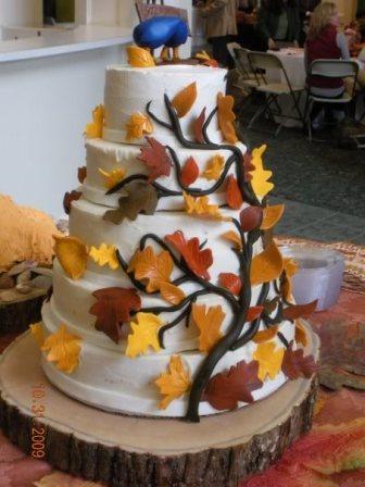 8 leaf cake