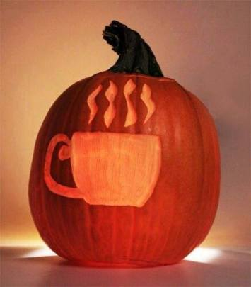 coffee pumpkin