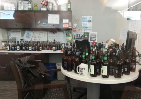 office beer