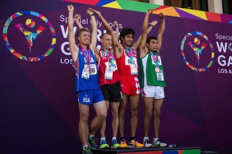 10000m podium 1