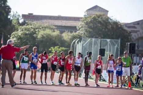 10000m start